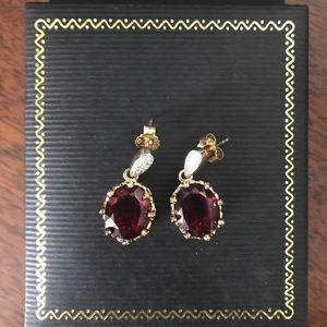 Jewelry - Beautiful rainbow topaz earrings